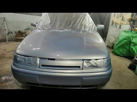 Покраска Ваз 2110 в Гараже за 4000 рублей.От нуля до BMW X5.Серия 26
