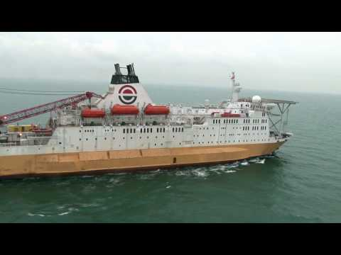 Accommodation & Repair Vessel - ARV 1 Aerial video