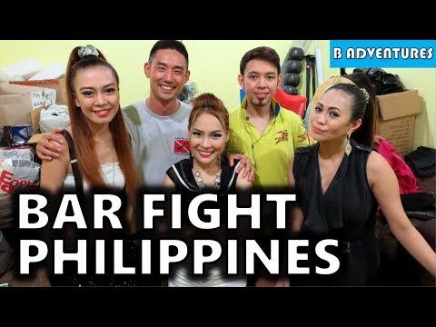 Tiki Bar, Live Band & Fight, Puerto Princesa Palawan, Philippines S3, Travel Vlog #74