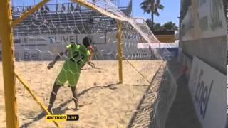 Украина Нидерланды 8 1 Пляжный футбол Евролига 2013 Этап 2 голы