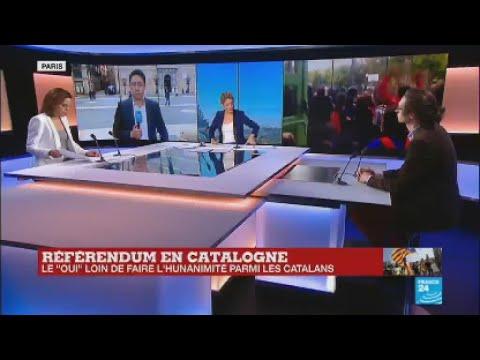 Référendum en Catalogne : les indépendantistes appellent l'Union européenne à jouer les arbitres