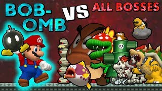 Bob-Ombs VS All Bosses | HD 60FPS