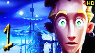 The Secret of Monkey Island Special Edition. Complete Playthrough Co-op Commentary. (Part 1 of 3)