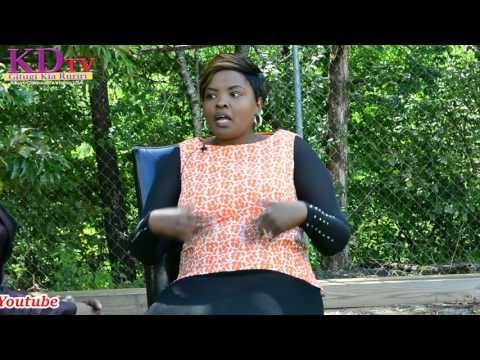 KENYAN REKNOWNED ARTIST TELLS HOW SHE LOST HER MUM THROUGH FIRE