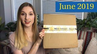 Dot Boxx   June 2019   Period Subscription Box   Sunsation