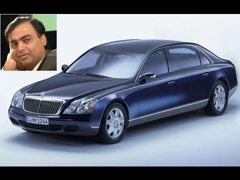 Mukesh Ambani Luxury Cars Youtube