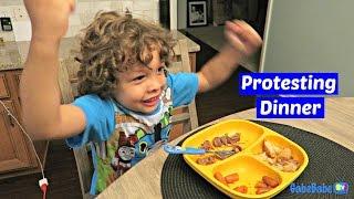 PROTESTING DINNER!