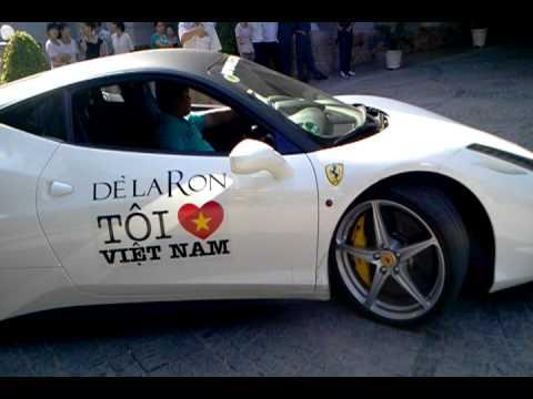 Car passion -Sieu xe Ferrari 458 Italia lui xe tai Sunrice resort Nha Trang.mp4