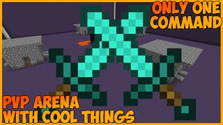 PvP Arena with cool things | Only One Command Block
