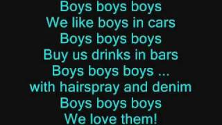 Lady GaGa - BoysBoysBoys [Lyrics]