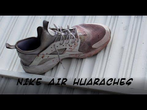 RamzZ Restorations Ep-2: Triple White Nike Air Huaraches