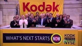 Eastman Kodak Company Visits the NYSE