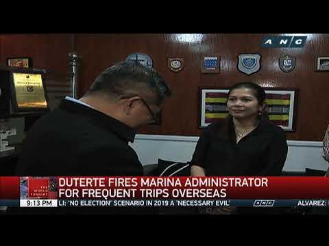 MARINA administrator says he anticipated sacking