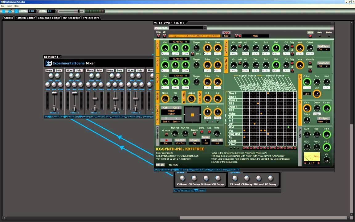 how to use darkwave studio