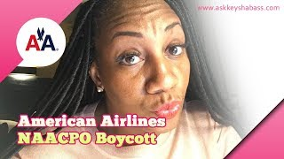 American Airlines NAACP Boycott