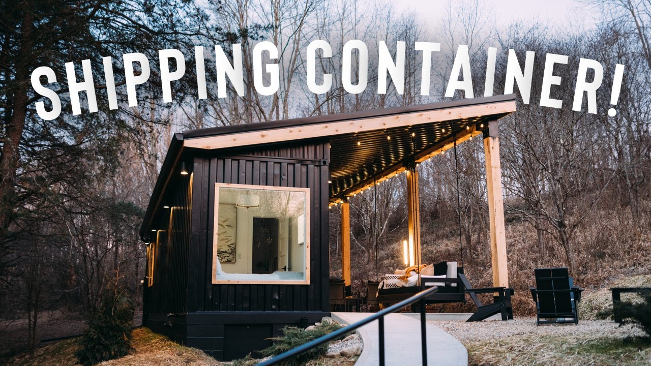 Cozy Shipping Container Airbnb Full Tour The Lily Pad