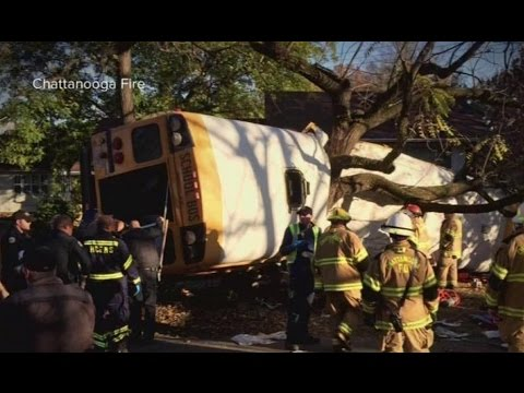 Chattanooga School Bus Crash | At Least 5 Killed