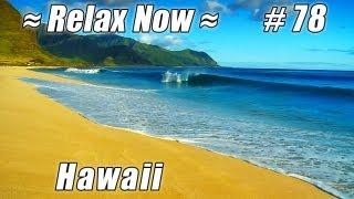Relax. OAHU YOKOHAMA BEACH Waianae, Kaena Point #78 Beaches Ocean HD Waves Nature sounds Hawaii