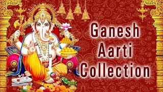 गणेश आरती संग्रह, Ganesh Aarti Collection I Full Audio Songs Juke Box