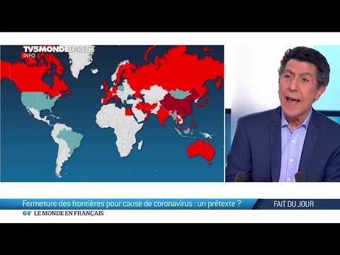 Coronavirus: fermeture des frontières dans certains pays par peur de l'épidémie de Covid19