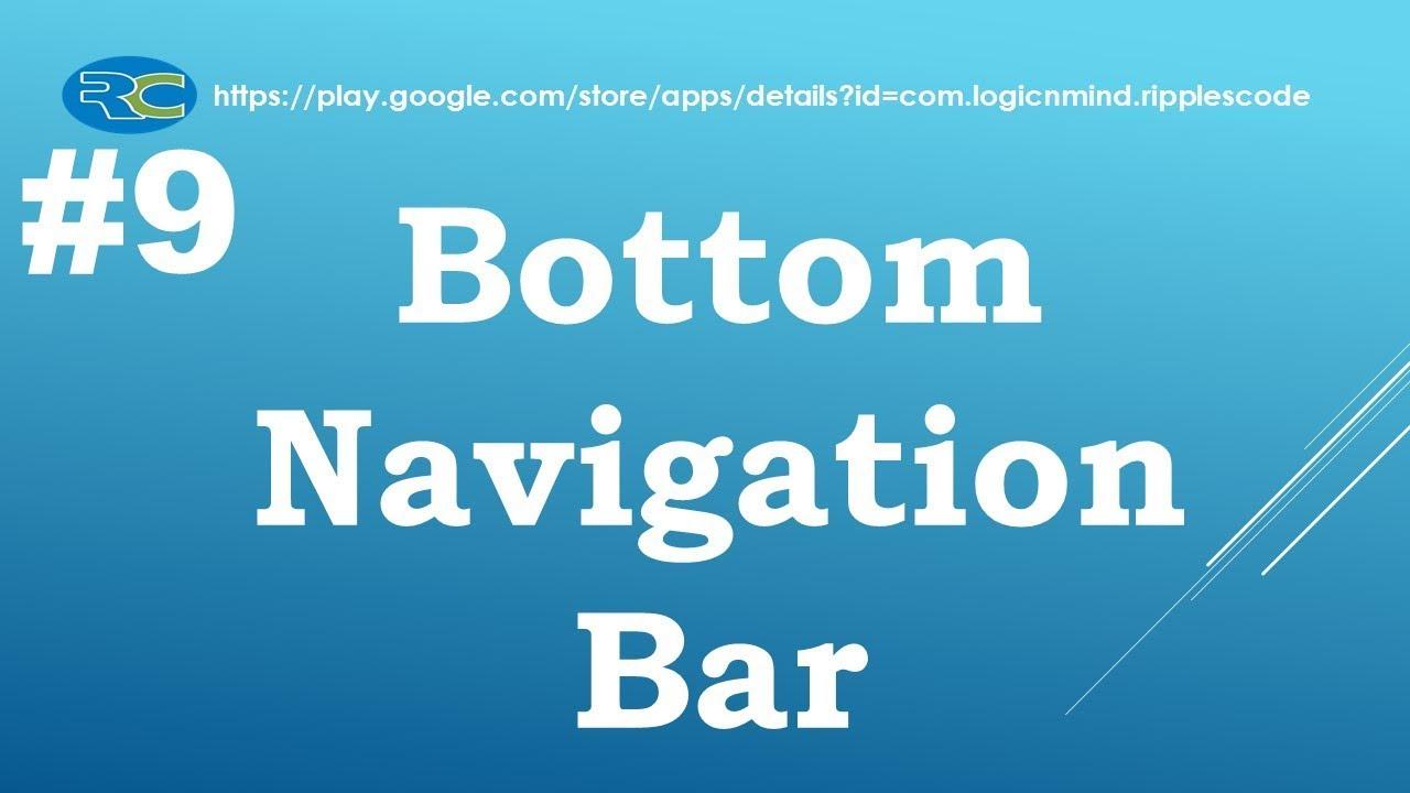 Let us Flutter || Bottom Navigation Bar || Part-9