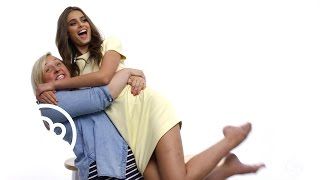 Model Taylor Hill's Signature Pose And Feelings On Granny Panties   29 Questions   Refinery29