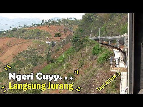 JALUR KA EXTREME Di INDONESIA | NAIK KA ARGO WILIS Bandung - Yogyakarta Part 1