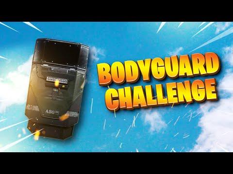 WARZONE Bodyguard Challenge!