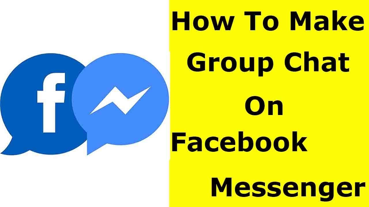How To Make Group Chat On Facebook Messenger & Create A Group In Your Android Mobile/Ios-2020