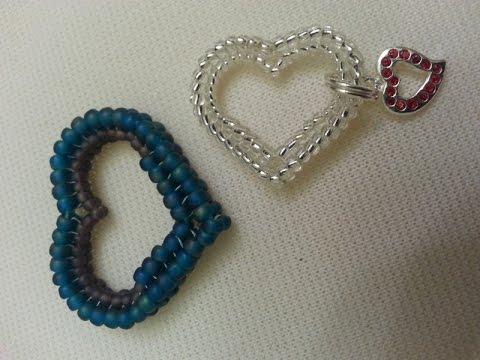 Handmade Jewelry: Beaded Heart