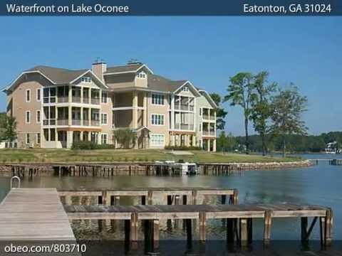 Atlanta New Homes Waterfront on Lake Oconee by Rialto Capital in Eatonton, Putnam County