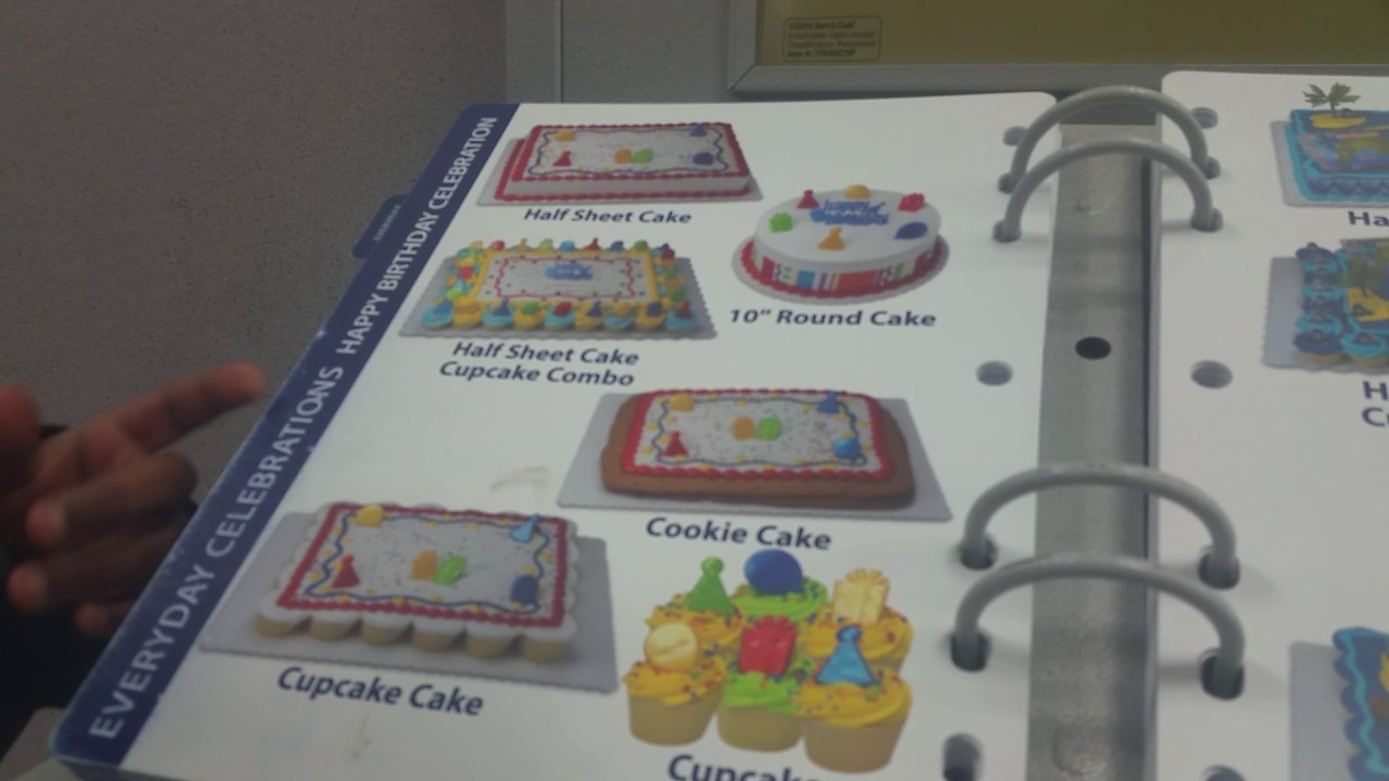 Cakes At Sams Club