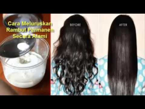 Cara Meluruskan Rambut Permanen
