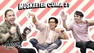 Video LOKAR TV X FIXI : GANTUNG THE SERIES MUSKEETERS INTERVIEW PART 1/2 download MP3, 3GP, MP4, WEBM, AVI, FLV Agustus 2018