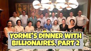 Mayor ISKO tuloy ang pagsuyo sa mga bilyonaryo!!