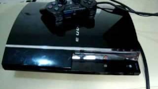 Console PlayStation 3 PS3 Demonstração Português