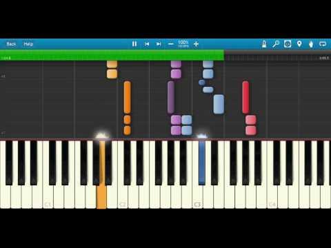 Perfume Medley - Pentatonix - MIDI Cover - Synthesia Piano Tutorial