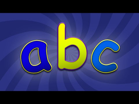 ABC Song  ABC Alphabet Song for Children  Nursery Rhymes