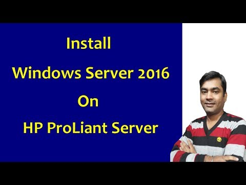 Hp Server - Install Windows Server On HP Proliant Server - HP Intelligent Provisioning