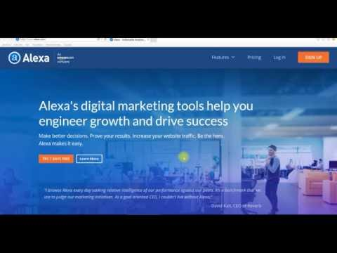 ALEXA YOUTUBE RANKING HERRAMIENTAS SEO SEM MARKETING POSICIONAMIENTO WEB EN INTERNET