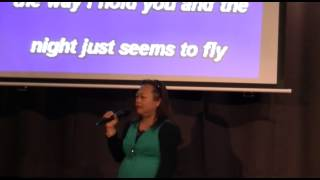 Lydia Monteclar sings I JUST FALL IN LOVE AGAIN by Anne Murray