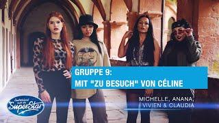 Gruppe 9: Vivien, Anna, Michelle & Claudia mit