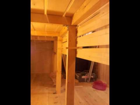 Деревянный стеллаж своими руками Строительный портал