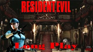 Resident Evil HD REmaster | Full Playthrough | Jill Valentine | Longplay Walkthrough No Commentary