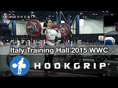 Team Italy - 2015 WWC Training Hall (Nov 16)