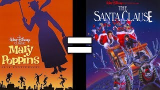 24 Reasons Mary Poppins & The Santa Clause Are The Same Movie