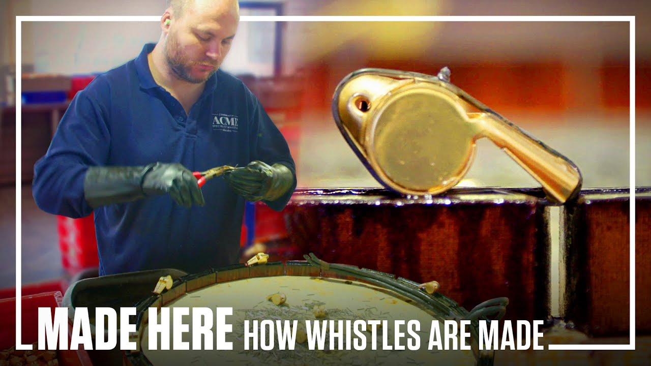How whistles are made by hand | MADE HERE | Popular Mechanics