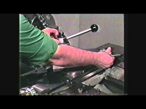 how to cut threads on a lathe