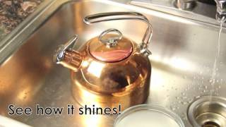 Shine Your Copper Teakettle!