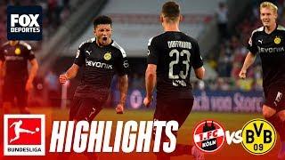 Koln 1-3 Borussia Dortmund | HIGHLIGHTS | Jornada 2 | Bundesliga
